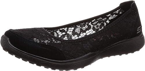 Skechers Chaussures Microburst Microburst Microburst Sweet Bloom Noir Femme 33b