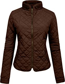Womens Lightweight Quilted Zip Jacket (S-3XL)