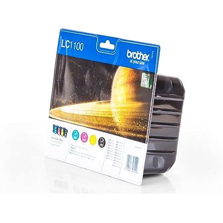 Brother Tintenpatronen Lc 1100hy Multipack Je 1x Bk M C Y Bürobedarf Schreibwaren