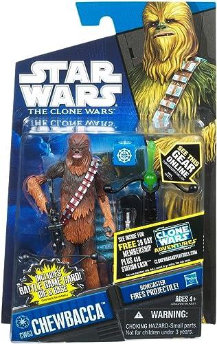salida para la venta Hasbro Star Wars The Clone Wars Basic Figure Chewbacca     Star Wars 2011 The Clone Wars Action Figure CW63 Chewbacca [parallel import] (japan import)  mejor opcion