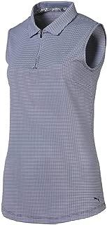 Women's 2019 Checker Sleeveless Polo