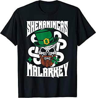 Shenanigans And Malarkey St Patrick's Day Party T-Shirt