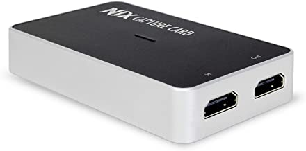 Plugable Performance NIX Video Game Capture Card 1080P 60FPS, USB C & USB 3.0 and HDMI Passthrough for Monitor - Compatible with Windows, Linux, macOS, OBS Streaming
