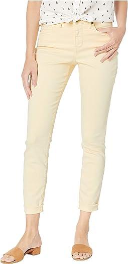 Ami Skinny Ankle w/ Cuff in Marigold