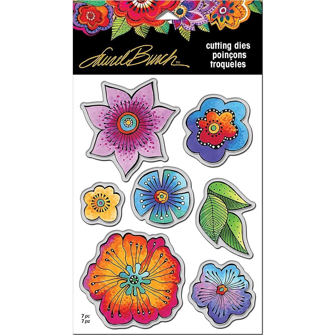 STAMPENDOUS Laurel Burch Blossoms Die Cut Set