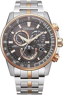 ساعة سيتزن ايكو-درايف بي كات للرجال كرونو ايه- تي بلونين CB5886-58H
