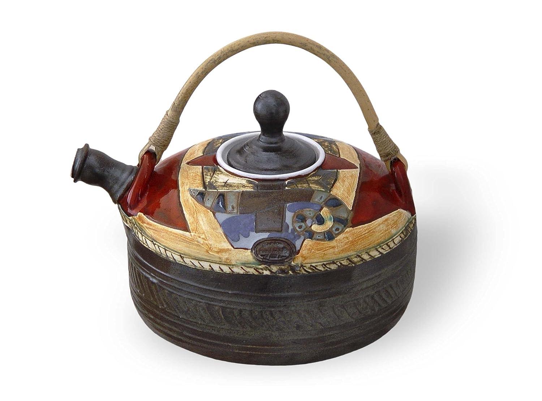 Handmade Ceramic Special price Teapot. Wheel Thrown Artistic Pottery Tea quality assurance Pot