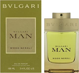 BVLGARI Man Wood Neroli Eau De Parfum Spray 100 ml, 3.4 Ounce