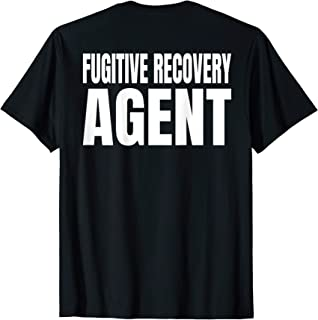 Mens Fugitive Recovery Agent T-Shirt