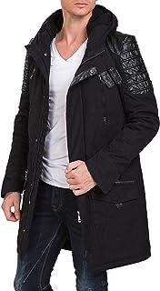 Redbridge Red Bridge Men's Winter Jacket   Coat   Parka   Samurai Jacket   with Quilted Long Lined RBC by Cipo & Baxx  