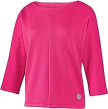 Joy Sportswear Cara sweatshirt voor dames, ideaal voor sport en vrije tijd, 3/4-mouw, zigzagstructuur.