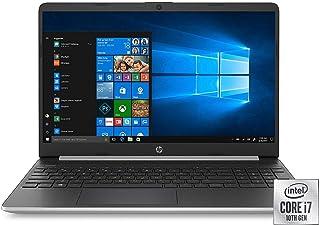 HP 15.6インチ フルHD ノートパソコン Intel Core i7-1065G7 プロセッサ 8GB メモリ 256GB SSD 2年保証 ケアパック 偶発的な損傷保護 Windows 10 Home