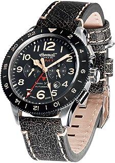 インガーソル 腕時計 自動巻き 限定生産品 Bison NO. 69 カレンダー GMT IN3224BK [並行輸入品]