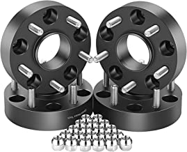 OrionMotorTech 5x5 Wheel Spacers 1.5 inches with 1/2-20 Studs for 007-2018 Jeep Wrangler JK, 1999-2010 Grand Cherokee WJ WK, 2006-2010 Commander XK, 4pcs