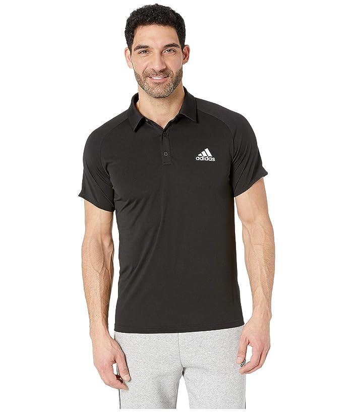 adidas Club Colorblock Polo (Black/White 1) Men