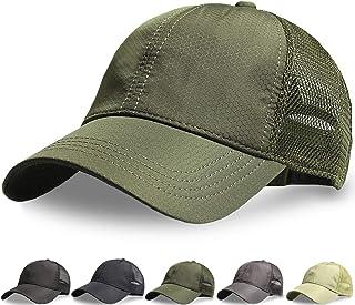 キャップ, メッシュキャップ 【メッシュ通気構造・最軽量 速乾性】メンズ 帽子 通気性抜群 日除け UVカット 紫外線対策 日よけ 野球帽 登山 釣り ゴルフ 運転 ランニング ジョギング アウトドアなどに