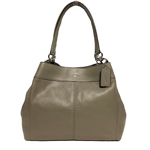 724b93acd2372 Coach F57545 Lexy Pebble Leather Shoulder Bag