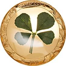 2020 PW Four Leaf Clover PowerCoin Good Luck Gold Coin 1$ Palau 2020 1 Gr Proof