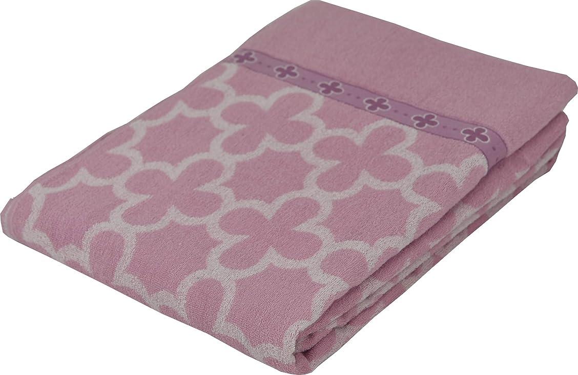 かもめエジプト人杭西川(Nishikawa) タオルケット ピンク ダブル 綿100% 洗える ゆったり ダブルサイズ 1-JS9801D