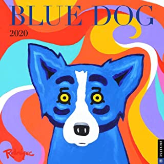 blue dog prints george rodrigue