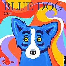 Blue Dog 2020 Wall Calendar