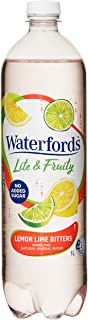 Waterfords Lite and Fruity Mineral Water, Lemon Lime and Bitters, 12 x 1L