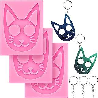 Cat Person Key Chain Kawaii Resin Keychain Resin Keychain Cat Keychain Kitty Keychain