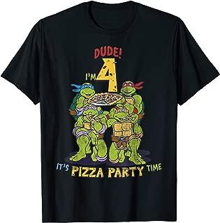I'm 4 Dude Pizza Birthday Party T-Shirt