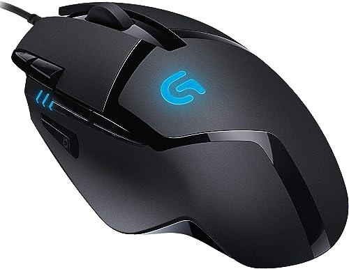 Logitech G402 Hyperion Fury Ratón Gaming con Cable, Seguimento Óptico 4,000 DPI, Peso Reducido, 8 Botones Programable...