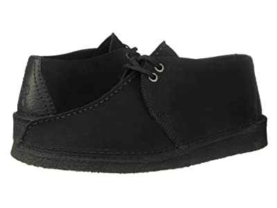 Clarks Desert Trek (Black Suede 2) Men