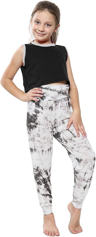 Max 70% OFF Kids Girls Ali Baba Harem Trouser Max 61% OFF Print Dye Fashion Trendy Tie L