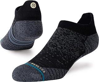 Stance, Run - Calcetines de lana para correr, color negro