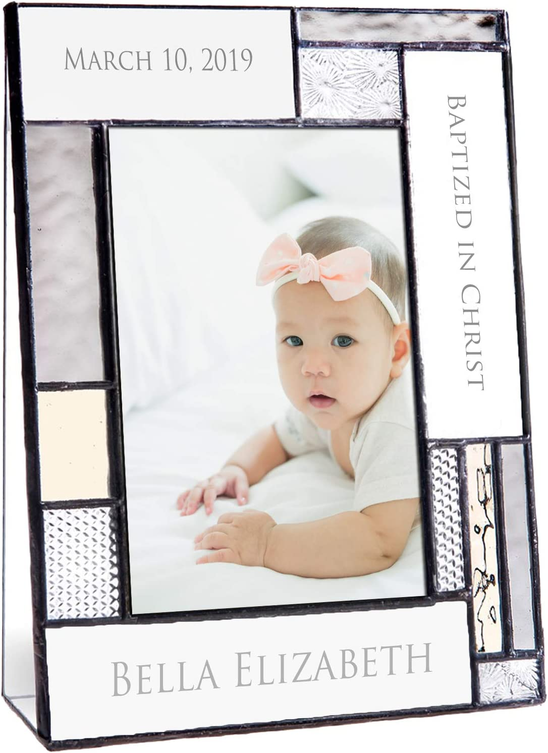 Safety and trust Baptism Gifts For Girls Or Boys Frame Gorgeous Personalized Picture Custo