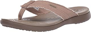 Crocs Men's Santa Cruz Canvas Flip