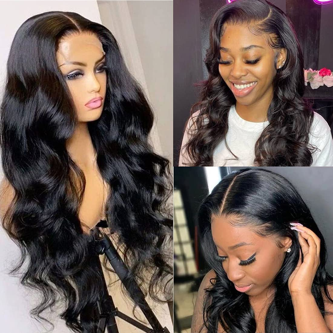 NAMOYA Lace Max Ranking TOP13 66% OFF Front Wigs Human Hair Inch Wave 24 W Body