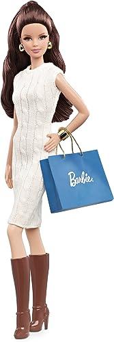 Mattel X9196 - Barbie Collector Basic - City Shopper Modepuppe mit Tasche