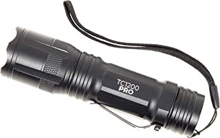 1TAC LED Ultra Bright High Powered 1200 Lumen Tactical Flashlight CREE LED Waterproof Magnetic Base Lanyard Utility Clip Five Modes of Light, Aircraft Grade Aluminum