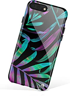 iPhone 8 Plus/iPhone 7 Plus case for Girls, Akna Collection Flexible Silicon Cover for Both iPhone 7 Plus & 8 Plus [Hawaii Tropical](705-U.S)