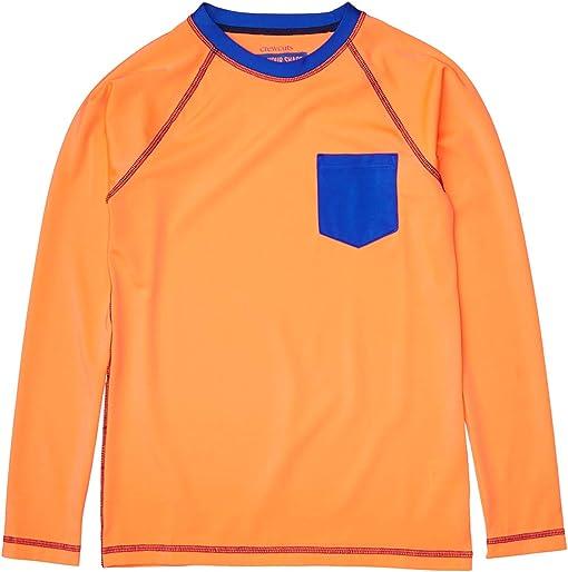 Neon Orange/Cobalt