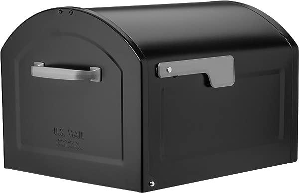 Architectural Mailboxes 950020B 10 Centennial Postmount Mailbox XL Black