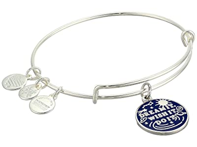 Alex and Ani Dream It, Wish It, Do It Bangle Bracelet (Shiny Silver) Bracelet