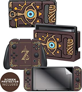 Controller Gear Nintendo Switch Skin & Screen Protec