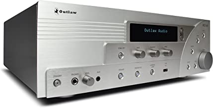 RR 2160 Retro Stereo Receiver | Class AB Amp Section | Internet Radio | AM/FM Tuner | Coax, Optical, RCA Inputs | Selectable Bass Management | Speaker Selector Switch | Remote Control | Tone Controls