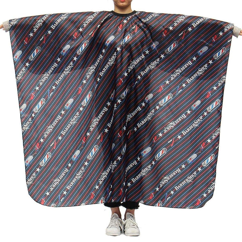 マディソントラフ導入するLing(リンー)-ビューティー 理髪ケープ 理髪布 店用 家庭用 通気性 滑らか ポリエステル製