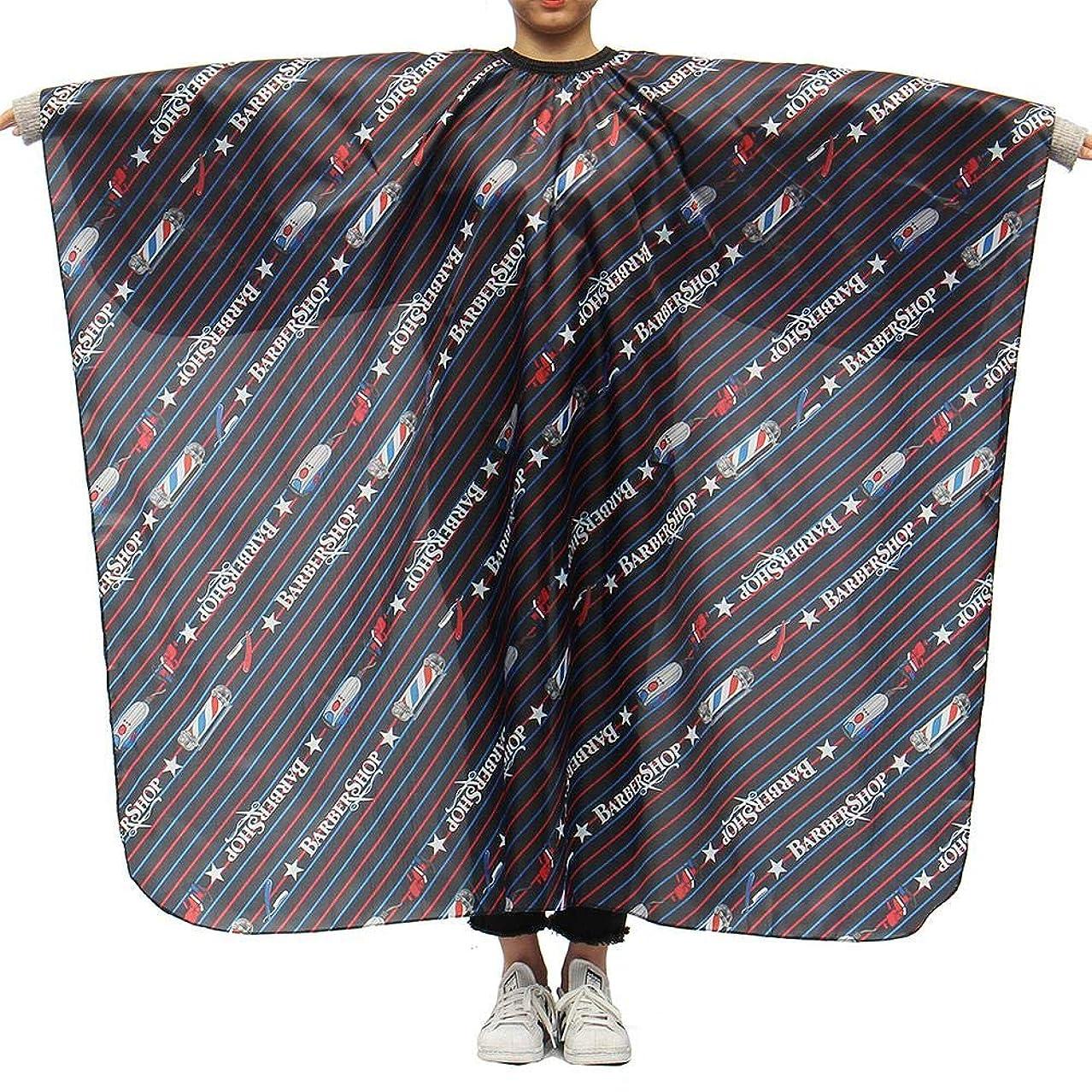エーカー変形豪華なLing(リンー)-ビューティー 理髪ケープ 理髪布 店用 家庭用 通気性 滑らか ポリエステル製