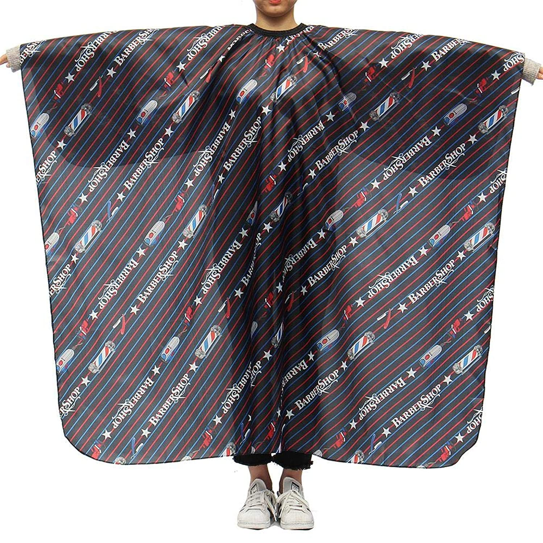 アドバンテージ剥ぎ取るハントLing(リンー)-ビューティー 理髪ケープ 理髪布 店用 家庭用 通気性 滑らか ポリエステル製