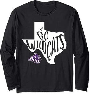 Abilene Christian Wildcats State Slogan Long Sleeve T-Shirt