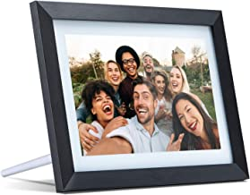 Digital Picture Frame WiFi 10.1 inch Electronic Photo Frame IPS Touch Screen HD Display, Share Moments Instantly via iOS and Android App or E-Mail,16GB Storage