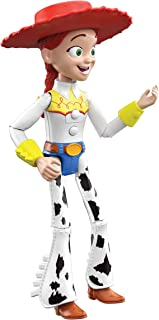 Pixar Interactables Jessie Talking Action Figure, 8.8-in Tall Highly Posable Movie Character Toy, Interacts with Other Fig...