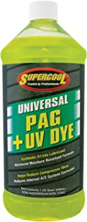 TSI Supercool 27897 Universal Synthetic PAG Oil with U/V Dye - 1 Quart
